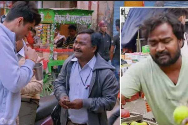 Actor Solanki Diwakar sells fruits to earn living in Delhi