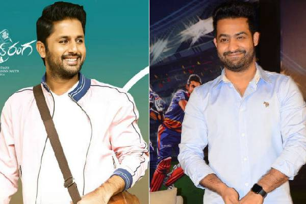 ntr Best wishes to nithiin and the whole chek team