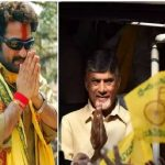 slogans of jr ntr fans during chandrababu naidu kuppam tour